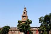 Sforza Castle in Milan — Stock Photo