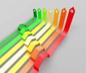 Energy efficiency concept — Stock Photo