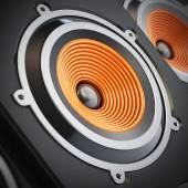 Speaker detail — Stock Photo