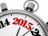 Countdown to new year 2015 — Stock Photo