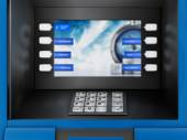 ATM Automated Teller Machine — Stock Photo