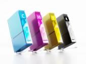Inkjet printer cartridges — Stock Photo