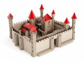 Castillo medieval — Foto de Stock