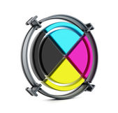 CMYK cross — Stock Photo