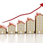 Rising housing market — Stock Photo #57657923