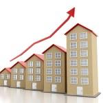 Rising housing market — Stock Photo #57657967
