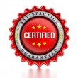Certified stamp — Stock Photo #59040811