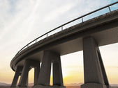 Freeway span — Stock Photo