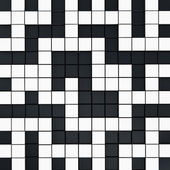 Crossword puzzle sfondo — Foto Stock