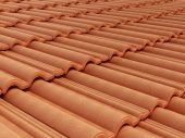 Roof tile — Stock Photo