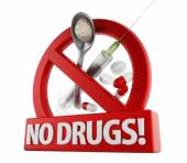 No drugs — Stock Photo
