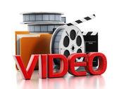 Video leker — Stockfoto