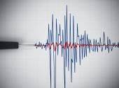 Seismic activity graph — Stock Photo