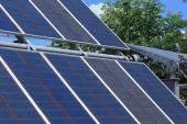 Pannelli solari — Foto Stock