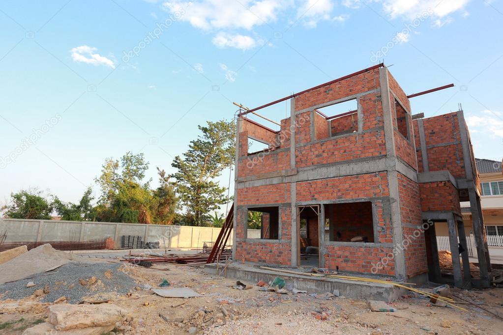 Struttura di casa costruzione costituita da cemento e for Costi di costruzione casa di mattoni