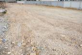 Empty land used for construction building and sale — Stockfoto