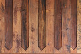 Brown wood plank background — Stock Photo