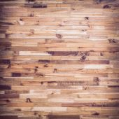 Brown wood plank background — Stockfoto
