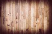 Hnědé dřevěné prkené pozadí — Stock fotografie