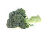 Brócoli aislado sobre fondo blanco — Foto de Stock