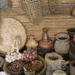 Traditional kitchen thai style with spice and garlic — Stock Photo #57229497