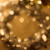 Abstract light celebration background with defocused lights — Foto de Stock