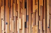 Timber wood brown stick used wall texture background — Стоковое фото