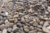 Pebble stone texture background — Stock fotografie