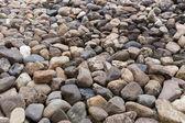 Pebble stone texture background — Stock Photo