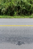Asphalt black road empty — Stok fotoğraf
