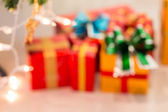 Celebration background with abstract blur defocused — Stock Photo
