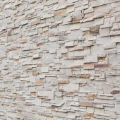 Pattern of decorative stone wall background — Stock Photo