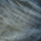 Denim design of fashion jeans textile background — Stock Photo