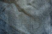 Diseño del dril de algodón de fondo de materia textil de jeans de moda — Foto de Stock