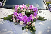 Wedding car detail — Stock Photo