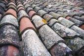Grungy roof tiles — Stock Photo