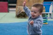 Child running — Stock Photo
