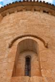 Romanesque window — Stock Photo