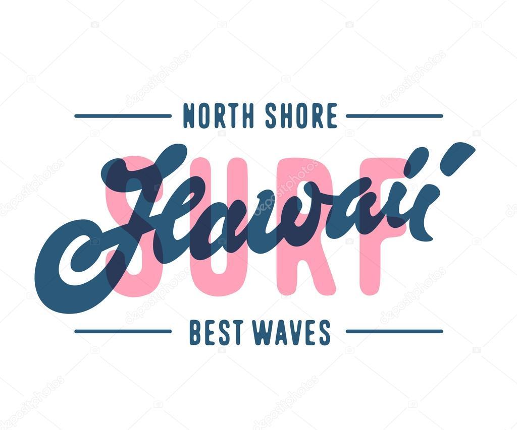 T shirt design hawaii - Hawaii T Shirt Design Stock Vector 114963718