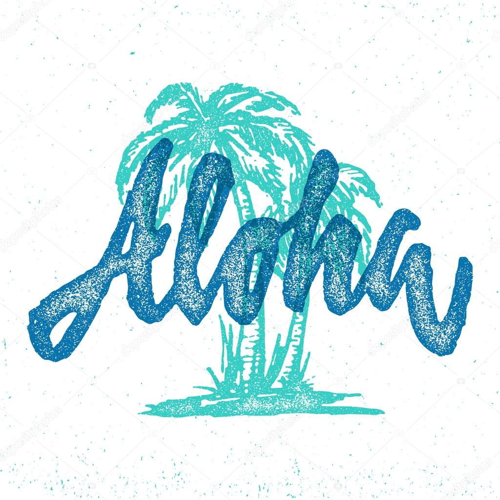 T shirt design hawaii - Hawaii T Shirt Design Stock Vector 114967986