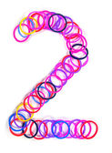Colorful rubber band No.2 — Stock Photo