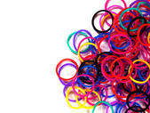 Colorful rubber band. — Stock Photo