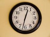 Brown clock — Stock Photo