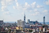 Aerial view of Batumi, Georgia — Stock Photo