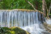Deep forest Waterfall ,Huay Mae Khamin — Stock Photo
