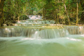 Beautiful waterfall, Huay Mae Ka Min waterfall in Thailand — Stock Photo