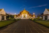 Marble Temple Thailand — Foto Stock