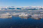 Beauty Jokulsarlon lake iceberg lagoon — Stock Photo