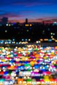 Abstrakte Bokeh Hintergrund des freien Marktes in multicolor — Stockfoto