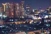 City highways lights night background — Stock Photo